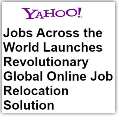 Global Online Job Relocation Solution