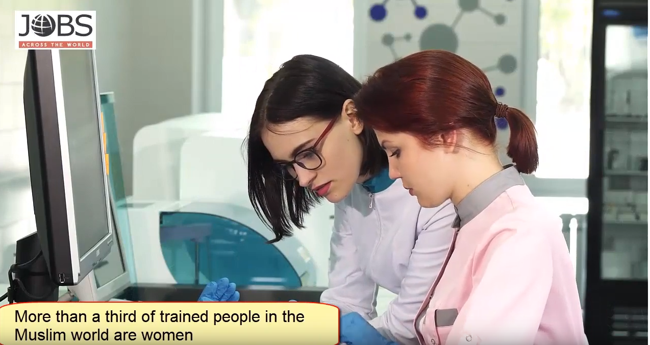 Watch: Women Fill Many STEM Jobs In The Middle East