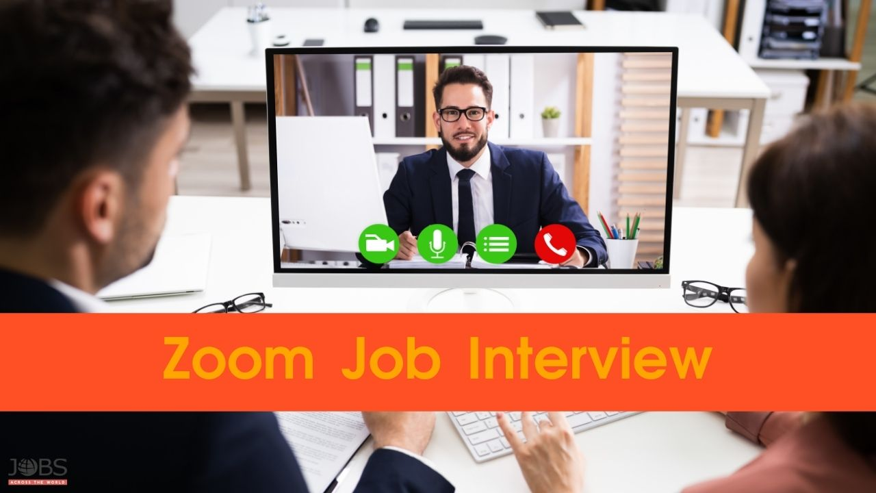 Zoom Job Interview